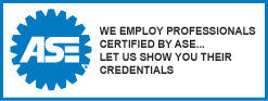 ASE - We Employ Professionals Certified by ASE... Let Us Show You Their Credentials